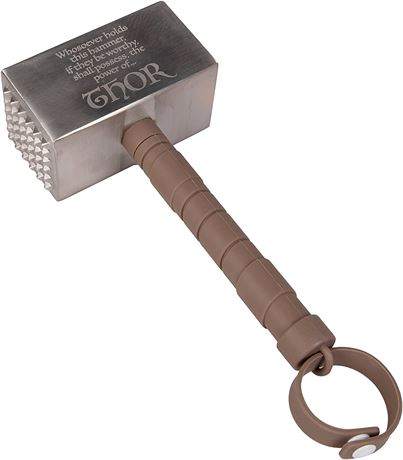 """9"""" Marvel Thor Mjolnir Meat Tenderizer - Tenderise Your Meat With The Power"""