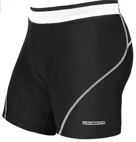 INBIKE 3D Padded Cycling Underwear for Men with Bold Anti-Slip Waistband *size M