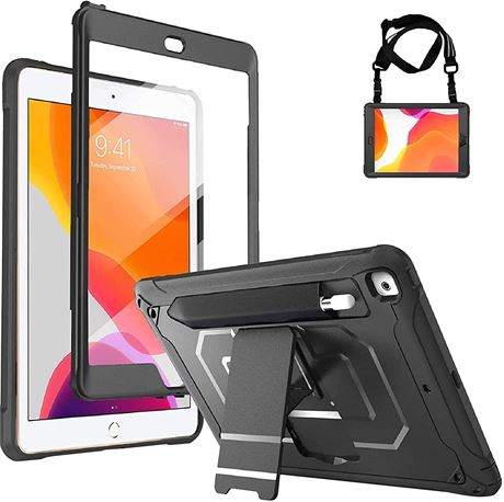 ProCase iPad 10.2 8th Gen 2020 / 7th Generation 2019 Rugged Case with Built- in