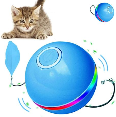 Interactive Cat/Dog Toys Ball Automatic Self Rotating Cat Toy