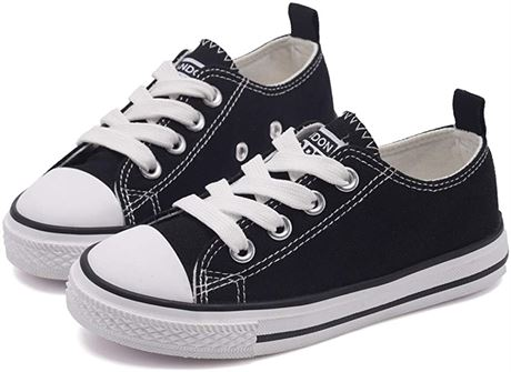 SZ:8 Toddler Low Top Lace Up Canvas Shoes Sneakers for Little Toddler