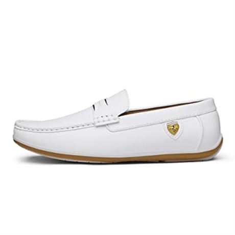 Bruno Marc Men's Penny Loafers Slip On Leather Driving Shoes