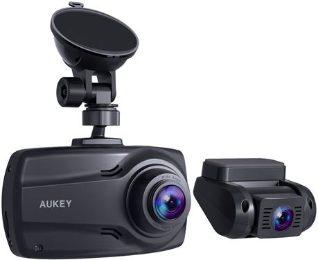 Aukey Dr03 HD Dual 1080p Course Recorder