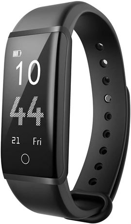 Fitness Tracker Mpow H2 Smart Bracelet with Heart Rate Monitor,Pedometer