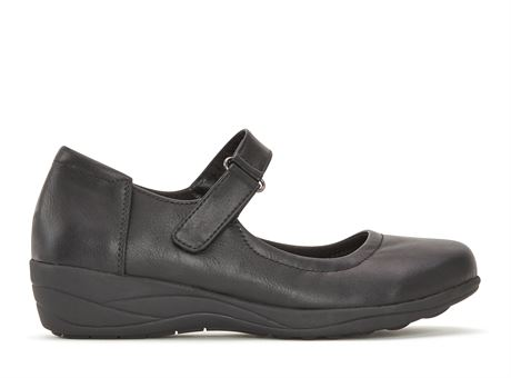 SZ:7- Women's Mary Jane Shoes - Flat & Confortable Leather