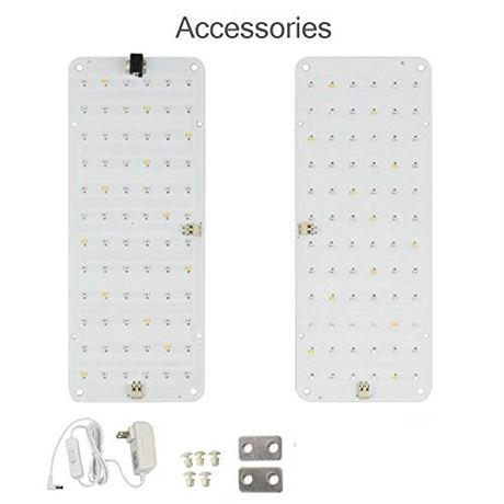 Dommia DIY LED Grow Light Panel for Indoor Plants