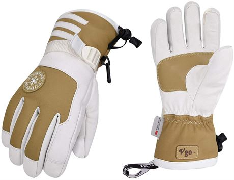 SZ:SM-Vgo - 3M Thinsulate G80 Lined Ladies' Winter Warm Skiing Gloves