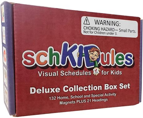 SchKIDules Deluxe Collection Box