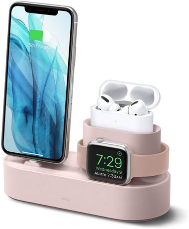 elago 3 in 1 Charging Station for Apple Products, Designed for Apple AirPods Pro