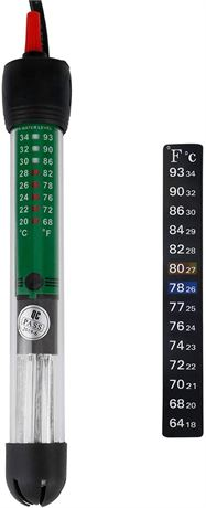 Uniclife Aquarium Heater Submersible with Thermometer