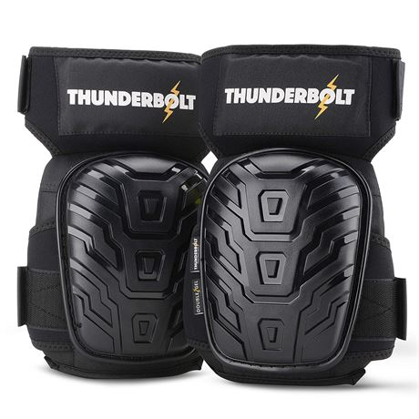 Knee Pads for Work by Thunderbolt