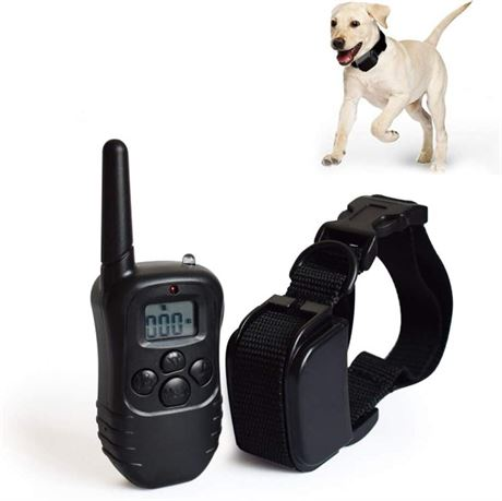 Shock Collar for Dogs, Dog Training Collar with Remote, Rechargeable