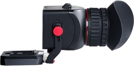 Movo Photo VF40 Universal 3X LCD Video Viewfinder with Flip-Up Eyepiece