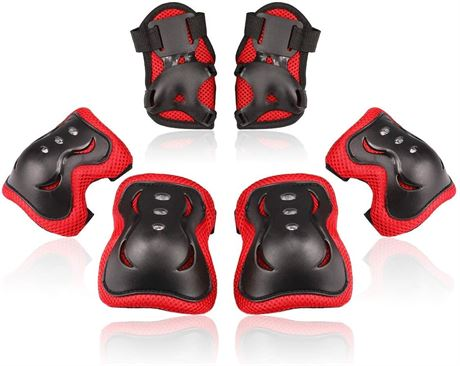 SZ:S-Kids/Youth Knee Pad Elbow Pads Guards Protective Gear Set for Roller Skates