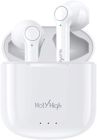 Wireless Earbuds, HolyHigh Bluetooth Earbuds Touch Control True Wireless Earbuds